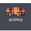 Messenger Plus Badge