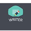 Writer Plus Plus Badge